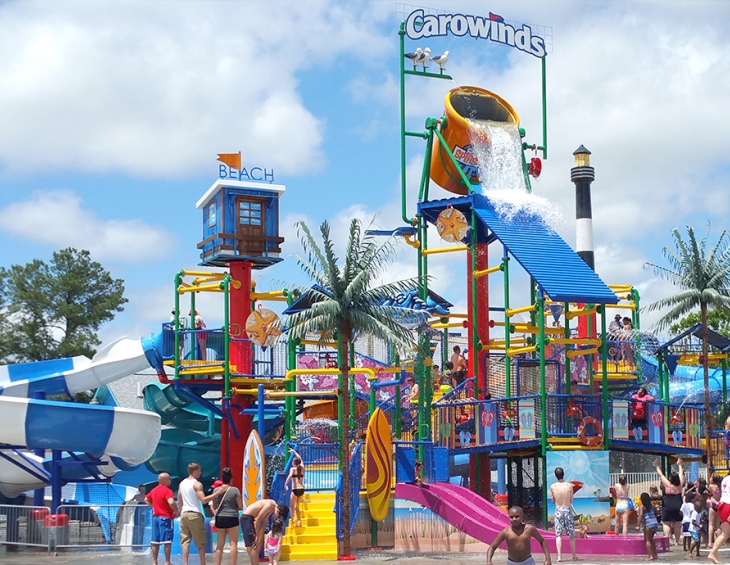 Аквапарк Carowinds Carolina Harbour